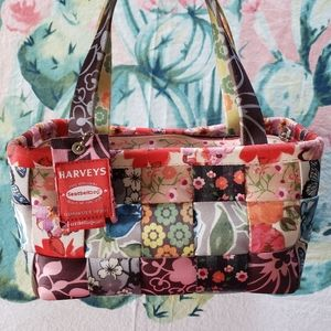 Limited Edition Harveys Seatbelt Patchwork Satchel